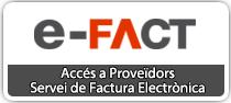 Accés a proveïdors - Servei eFact