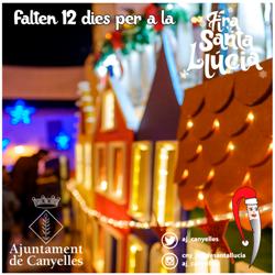 Falten 12 dies per a la Fira de Santa Llúcia