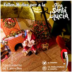 Falten 16 dies per a la Fira de Santa Llúcia