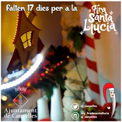Falten 17 dies per a la Fira de Santa Llúcia