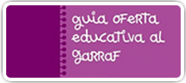 Oferta educativa Garraf