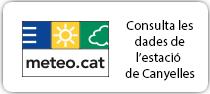 Consulta les dades de l'estació meteorològica de Canyelles